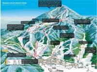 Nozawa Onsen Ski Trail Map - Nozawa Onsen Maps